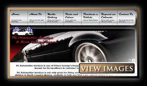 PG Automotive & North Country Motors Website Images